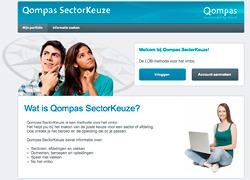 Qompas Sectorkeuze